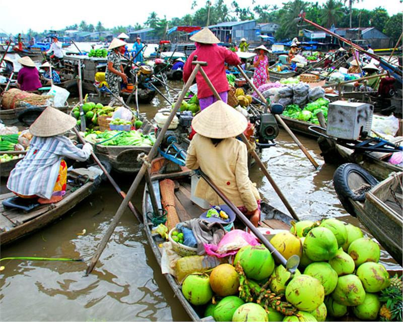 Enjoy your summer with Mekong Delta tour!