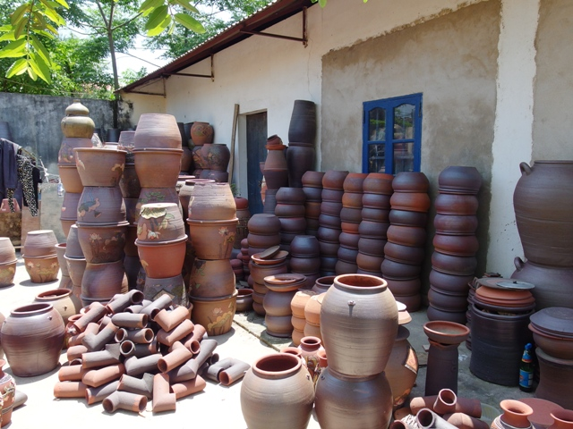 Phu Lang Pottery Village in Vietnam