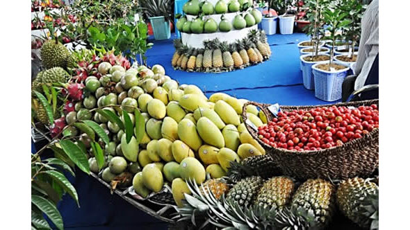 Fruit Festival in Viet Nam
