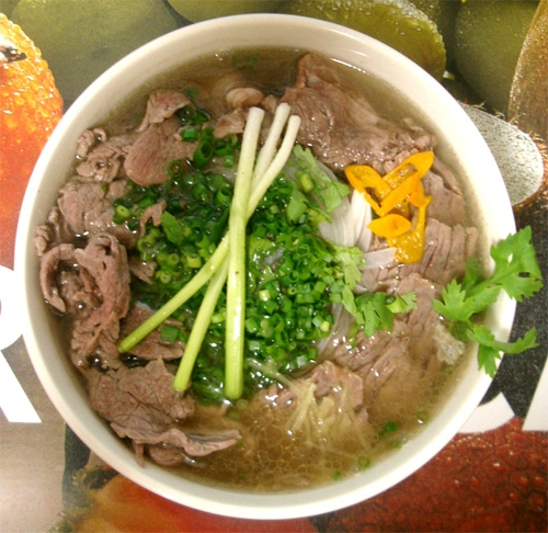 pho bo in vietnam, 4 top noodle foods in Northern Vietnam