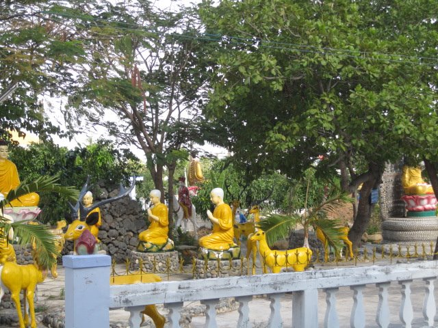 Tu Van pagoda in Viet Nam