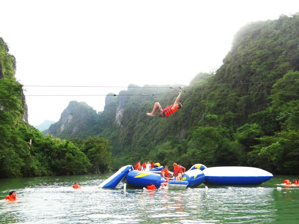 Experience the new adventure activity in Phong Nha-Ke Bang