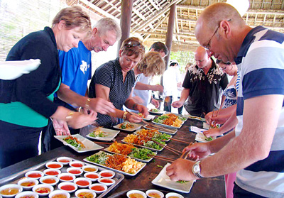 traveling Hoi An, Joining a cooking class when traveling Hoi An