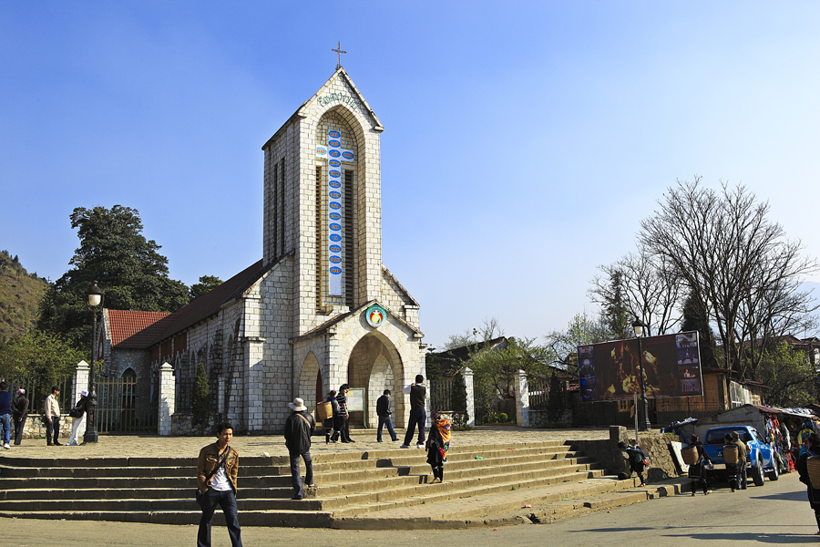 Stone church – the symbol of Sapa